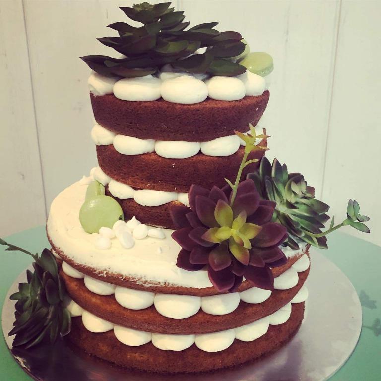 Cactus Naked Cake