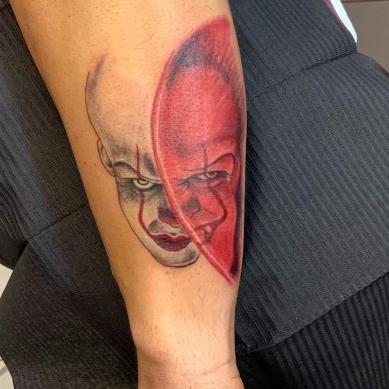 Stephen King tattoo