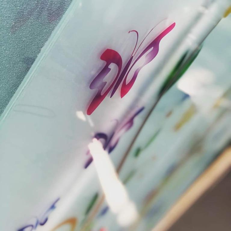 Bussole per porte con decoro in stampa digitale