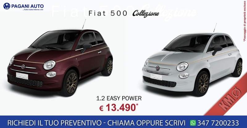 SUPER OFFERTA KM0 Fiat 500 collezione € 13.490