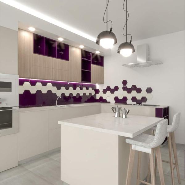 Work in progress Modern kitchen