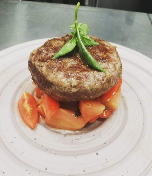 Hamburger da 250gr ripieno di mozzarella
