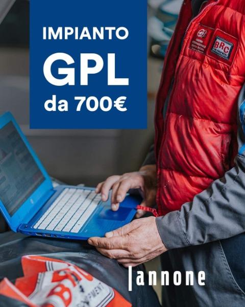 Impianto GPL da 700€
