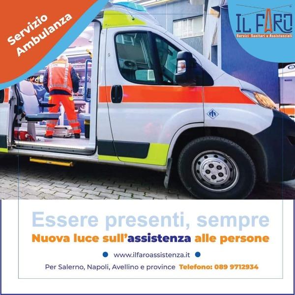 Trasporto con ambulanza, auto medica e furgone per disabili