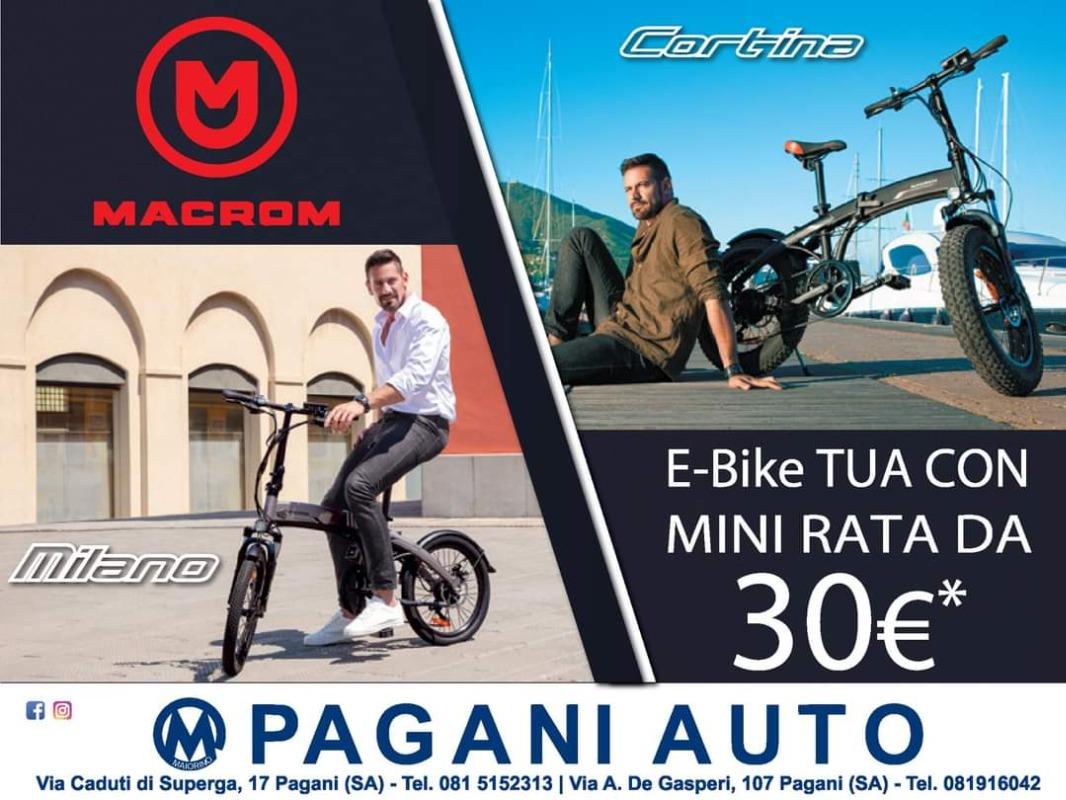 E-bike tua con mini rata da 30€