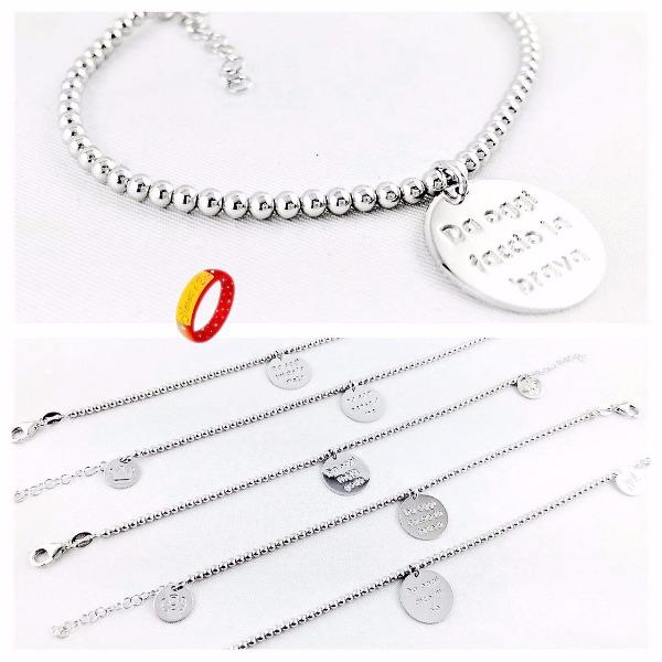 Bracciali Buoni propositi in argento 925