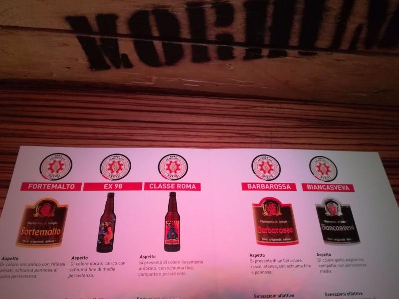 Birre artigianali birrificio Svevo