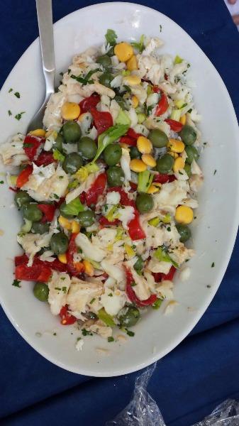 Baccalà all' insalata