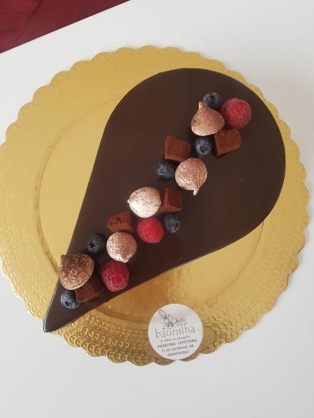 Goccia al cioccolato