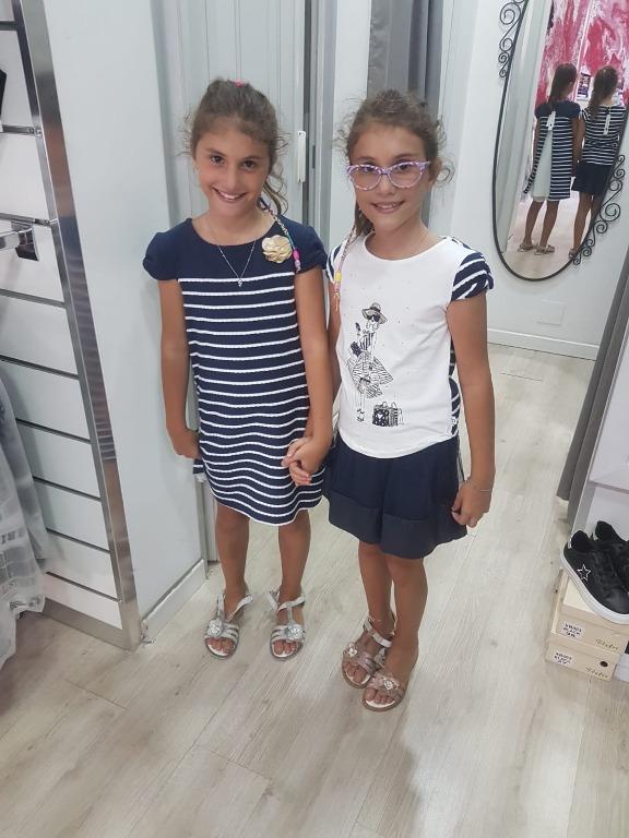 Le due sorelline scelgono Boboli
