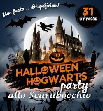 Halloween allo Scarabocchio con Harry Potter