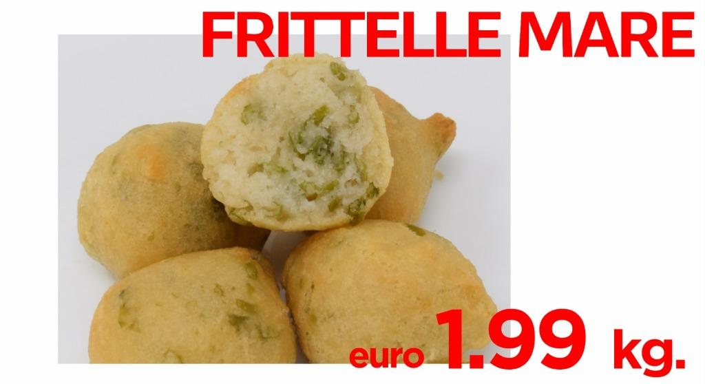 Frittelle di mare 1.99€ al kg