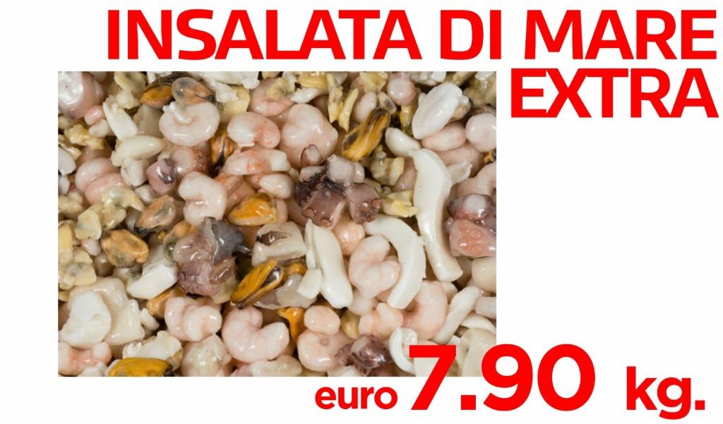 Insalata di mare extra 7.90€ al kg