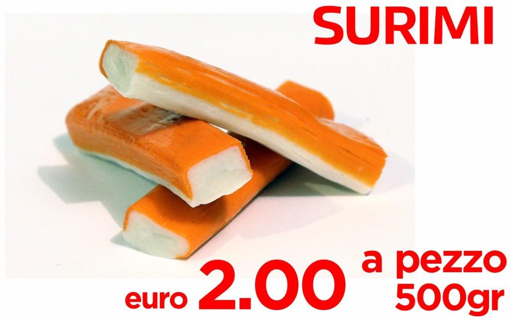 Surimi 2€ al pezzo