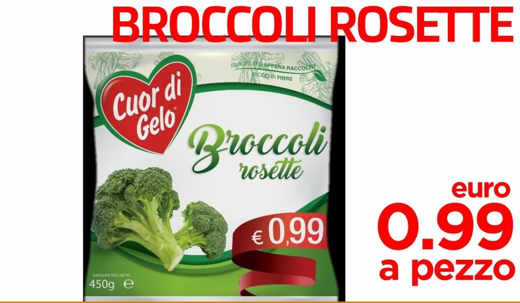 Broccoli rosette 0.99€