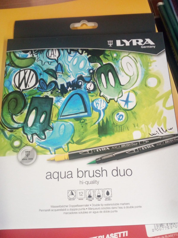 Aqua brush duo scatole