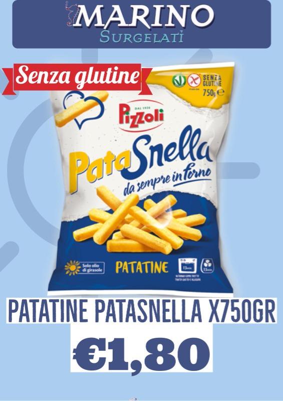 Patatine Patasnella X750gr € 1.80