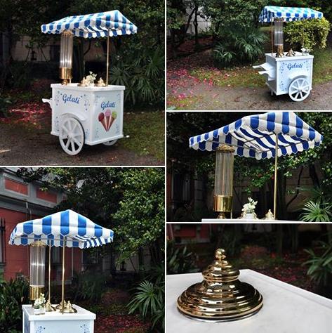 Il nostro carretto dei gelati. Per il tuo evento...per la gioia di grandi e piccini