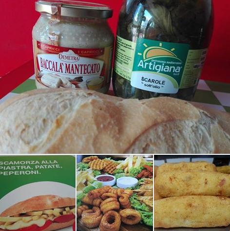 Eccezionali novità: panini con baccalà e crocche con baccalà