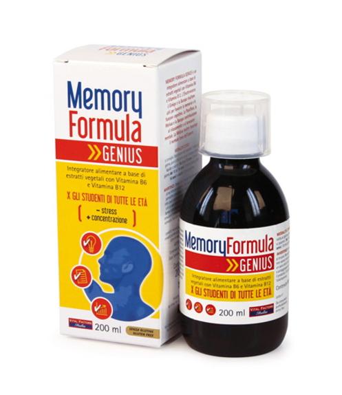 Memory Genius 200 ml