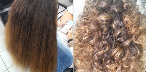 Color Touch, curly remodelin