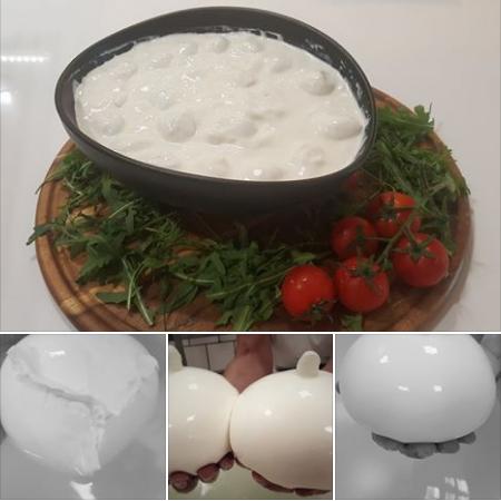 La mozzarella di TriticuM. La riscoperta della qualità artigianale! Da gustare comodamente ai nostri tavoli