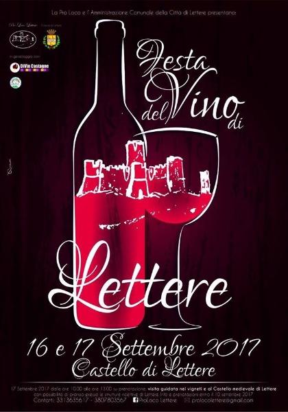 Festa del Vino di Lettere - 16 e 17 settembre 2017