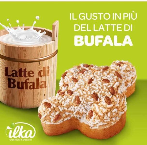 Novità ILKA Pasqua 2018... Il gusto in più del latte di bufala