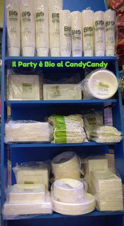Nuova linea party... completamente biodegradabile al Candy Candy