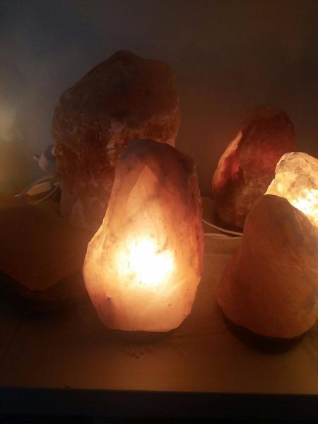 Offerta lampade  di sale himalayano 15 euro