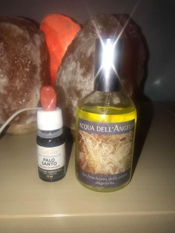 Olio essenziale Palo Santo e Acqua dell'Angelo