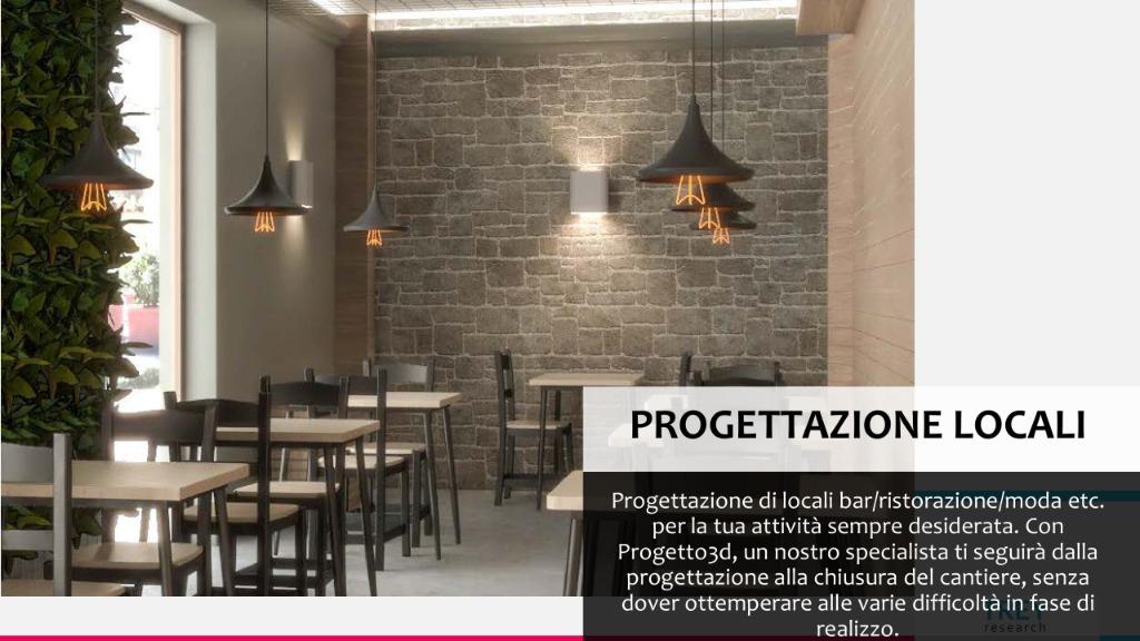 Progettazione Locali