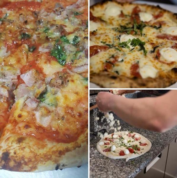 Pizzeria con il caseificio interno e a vista