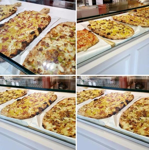 Le nostre pizze a metro