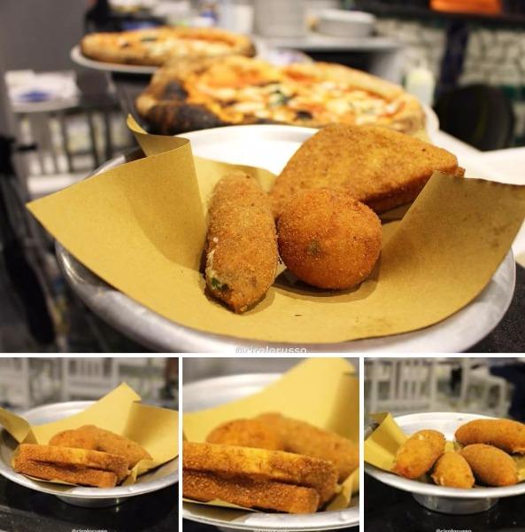 Sua maestà il fritto di Capri: crocchè, pasta cresciuta, frittatina  di maccheroni