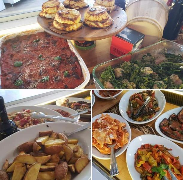La gastronomia d'asporto!  Tutti i giorni, sempre, invitante e genuina. Come la cucineresti tu!