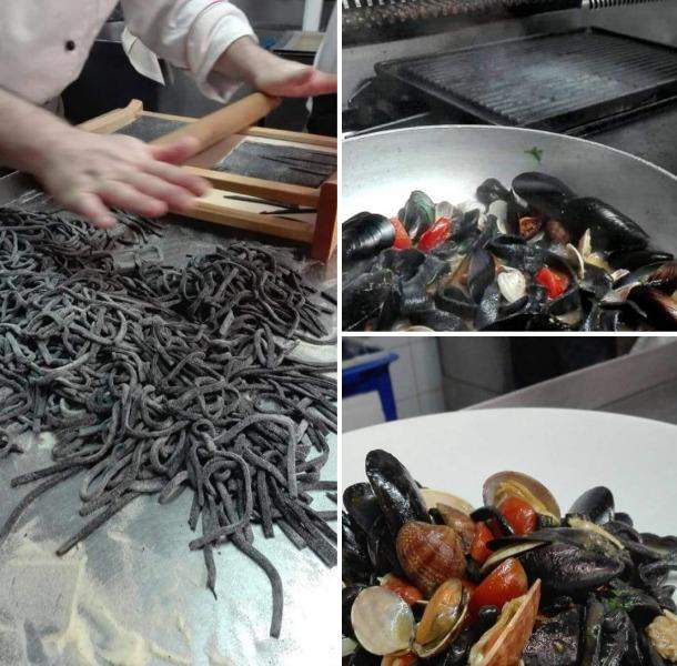 Scialatielli al nero ai frutti di mare... Come le tradizioni rendono unici alcuni sapori