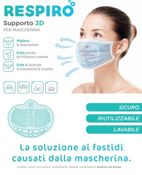 Supporto 3D PER MASCHERINA