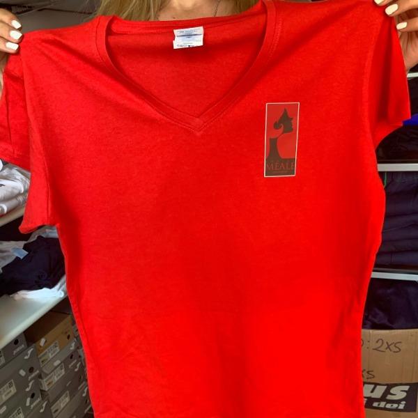 Stampa termoserigrafica applicata sulle shirt
