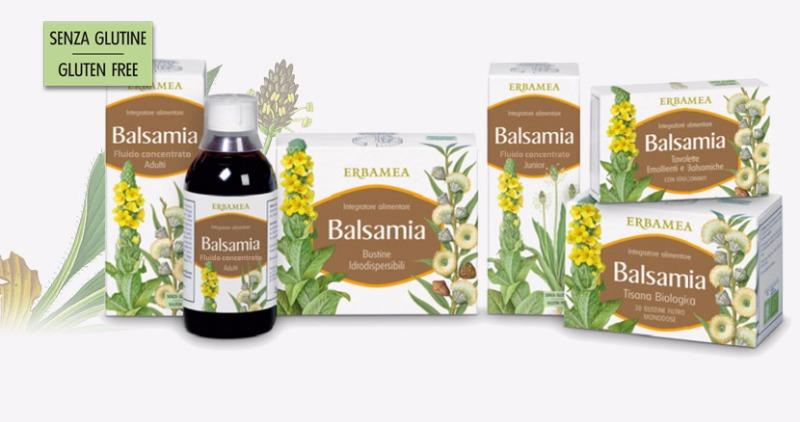 Erbamea Balsamia - Il sollievo balsamico per un benessere di grande respiro