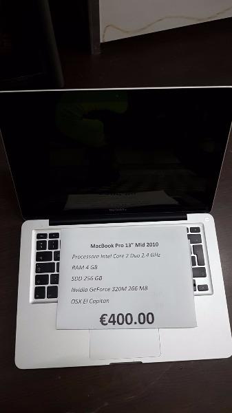 MacBook Pro 13 Mid 2010 € 400