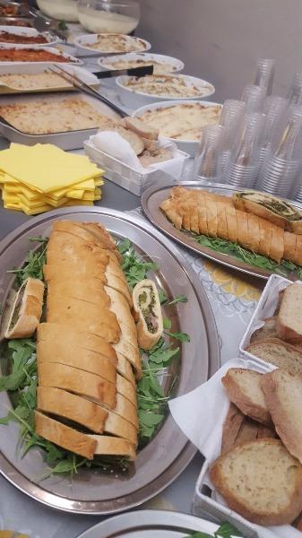 Il buffet per il tuo evento