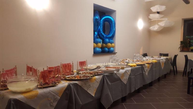 Il buffet per la tua festa indimenticabile