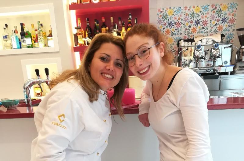 La grande cake designer Elena Michelazzi  insegnante della nostra Pastrychef Stefania Fasano