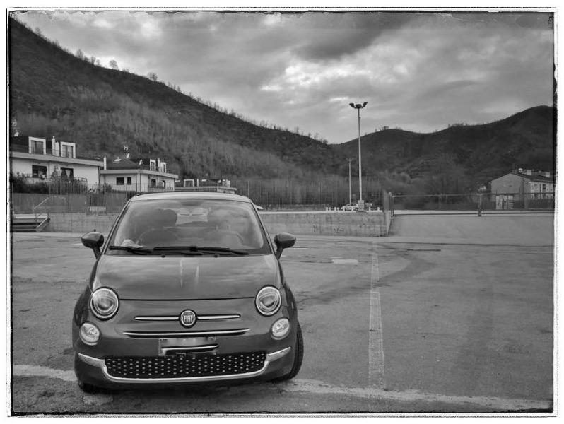 FIAT 500 1.2 benz LOUNGE - Imm.Ta 05/2016, Km 42.000