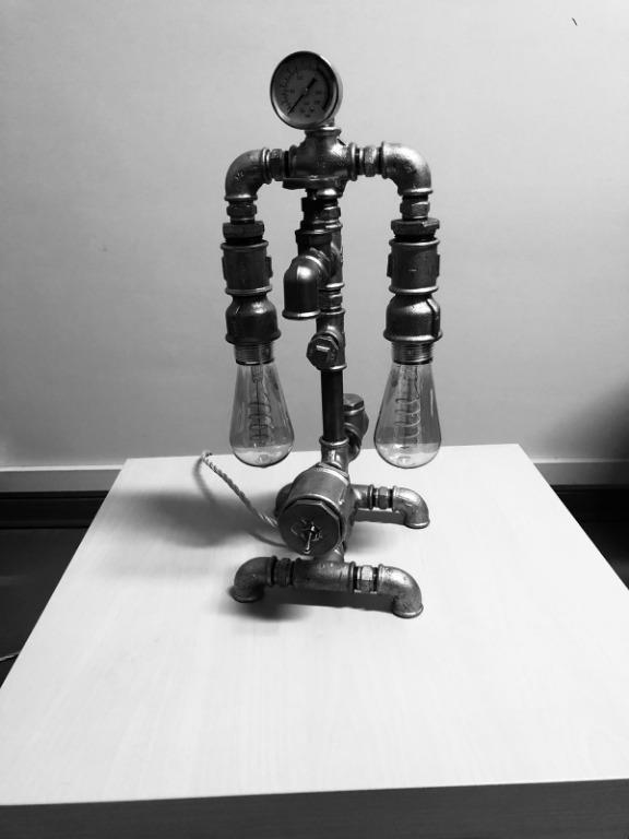 Industrial Line lampade stile industriale personalizzabili