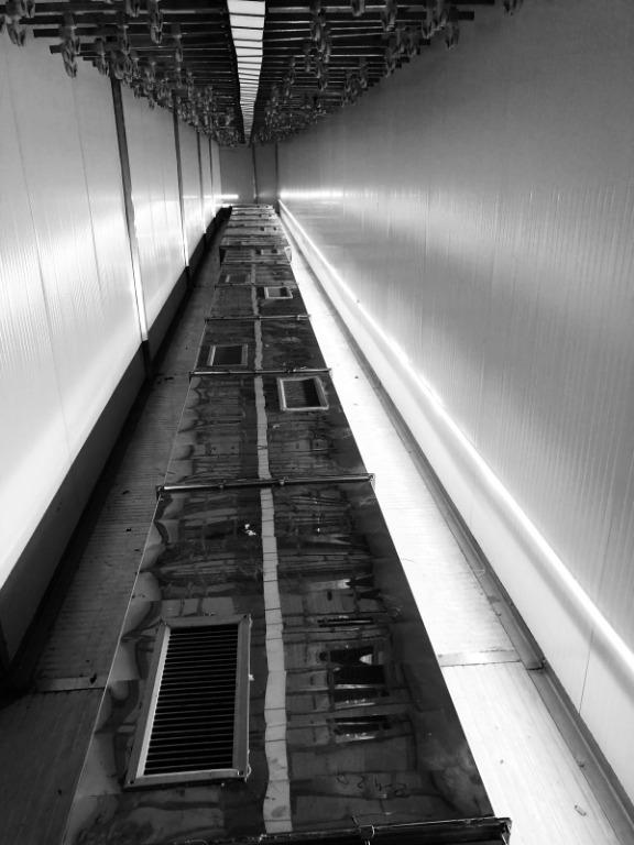 Illuminazione Led per tunnel di essiccazione