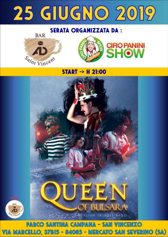 25 giugno i Queen Of Bulsara in concerto