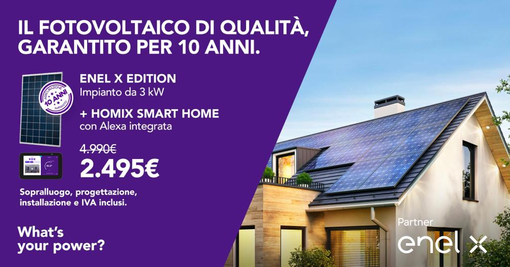 Il Fotovoltaico di Qualità Garantito per 10 anni