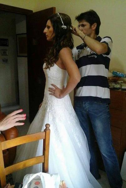 Preparazione Capelli Sposa